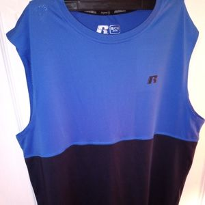 MENS SIZE SMALL RUSSELL MUSCLE SHIRT TANK TOP